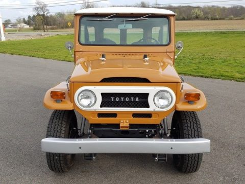 stunning 1973 Toyota Land Cruiser 4×4 restored for sale