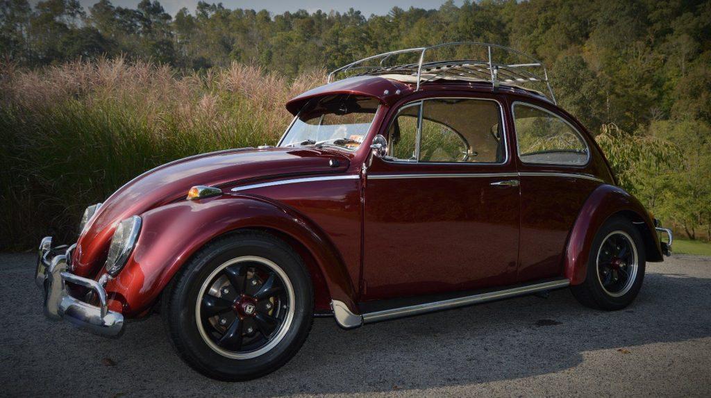 1966 Volkswagen Beetle 1300 – Classic Sliding rag top, complete restoration