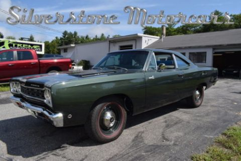 1968 Plymouth RoadRunner 2 Door Pillar Coupe HEMI, Restored Build Sheet for sale