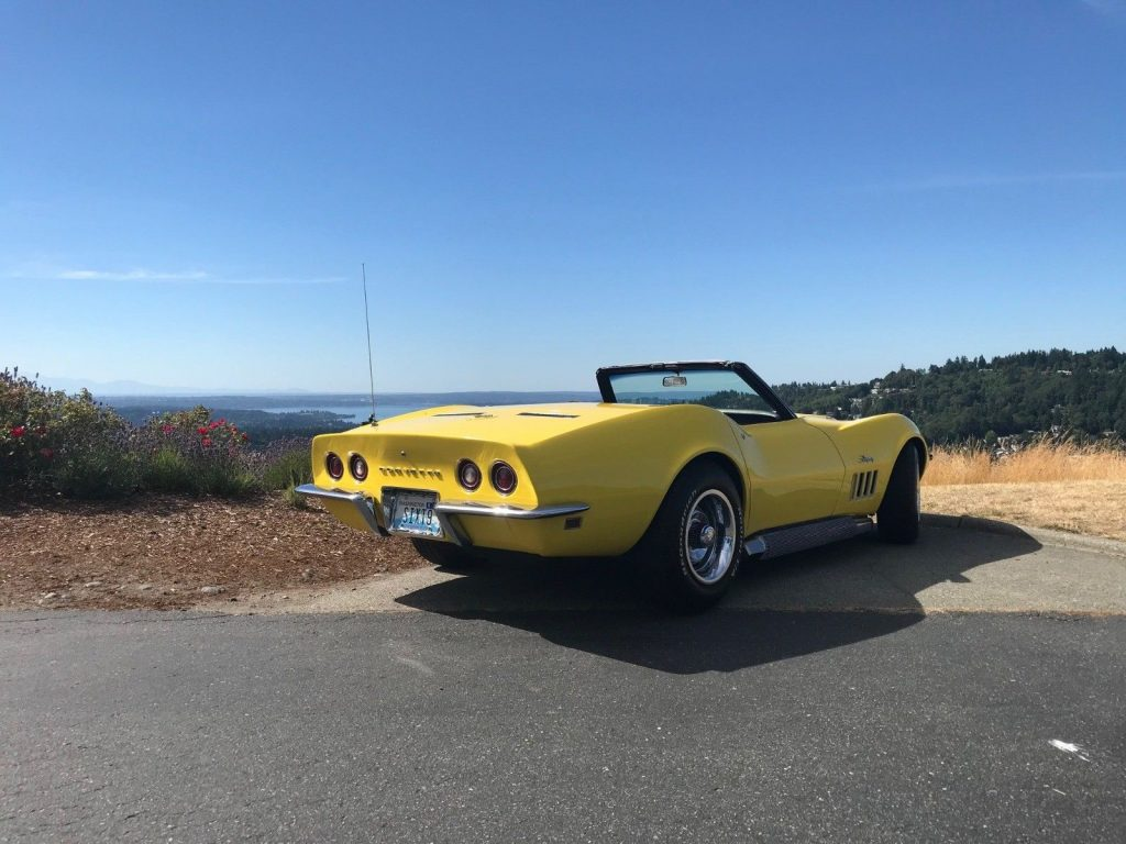 1969 Chevrolet Corvette Stingray Convertible Big Block 427 *Numbers Matching, Restored