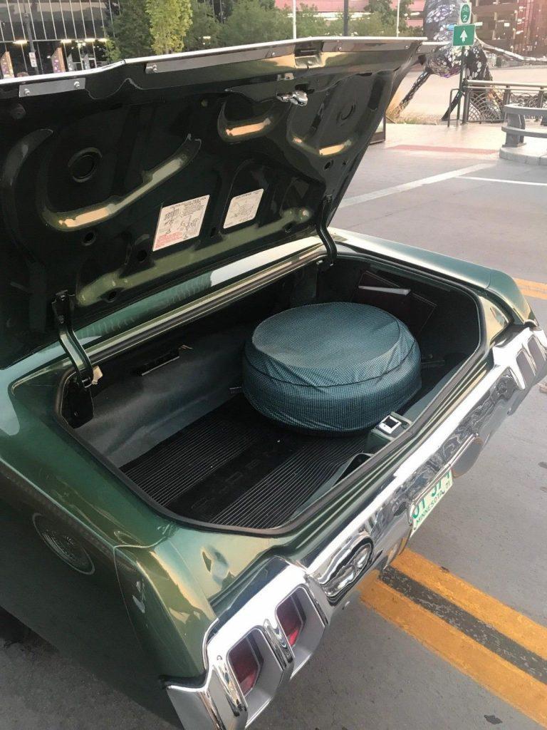 1970 Oldsmobile Cutlass Supreme Convertible Frame off Restoration
