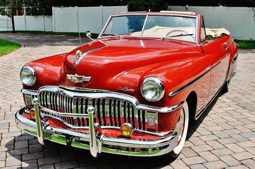 Rare 1949 DeSoto Custom Convertible Fully Restored Absolutely Stunning