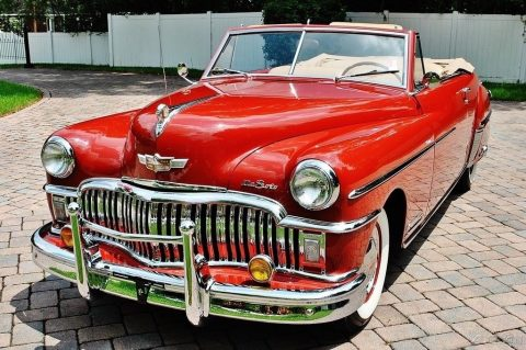 Rare 1949 DeSoto Custom Convertible Fully Restored Absolutely Stunning for sale