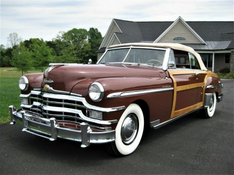 beautiful 1949 Chrysler Town & Country Convertible restored for sale