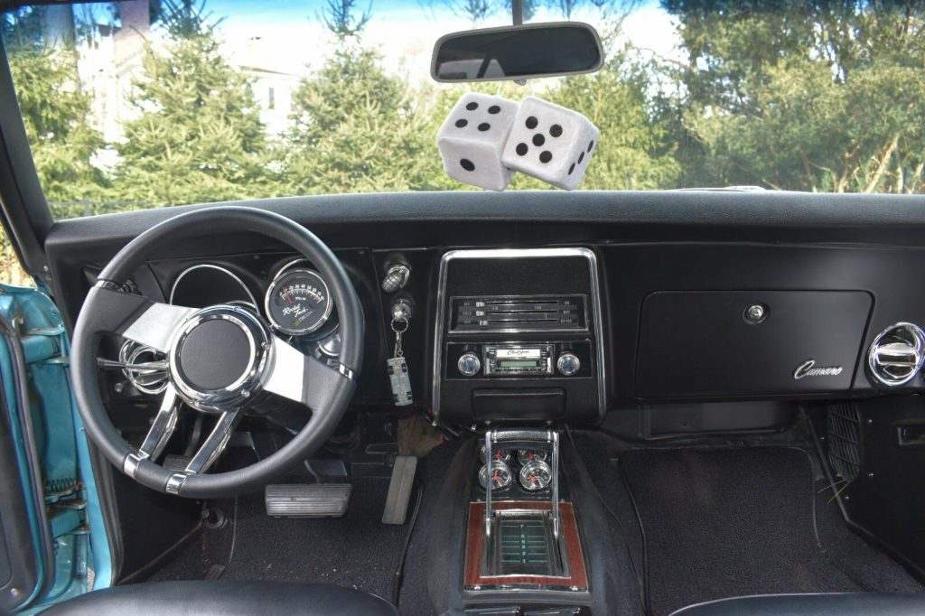 Custom 1968 Chevrolet Camaro restored