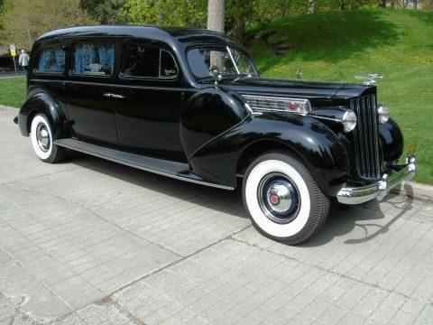 rare 1939 Packard Model 1705 Custom Hearse restored for sale