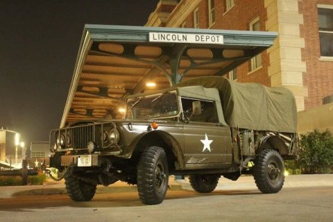 Restored 1968 Kaiser Jeep M715 military for sale