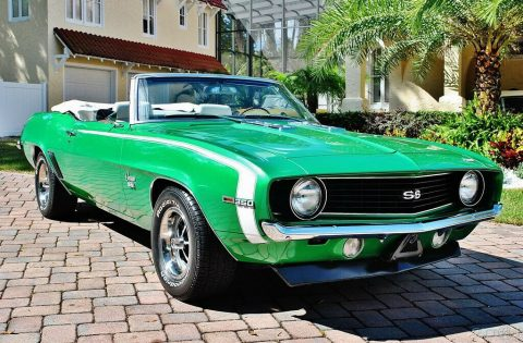 beautiful 1969 Chevrolet Camaro SS Convertible restored for sale