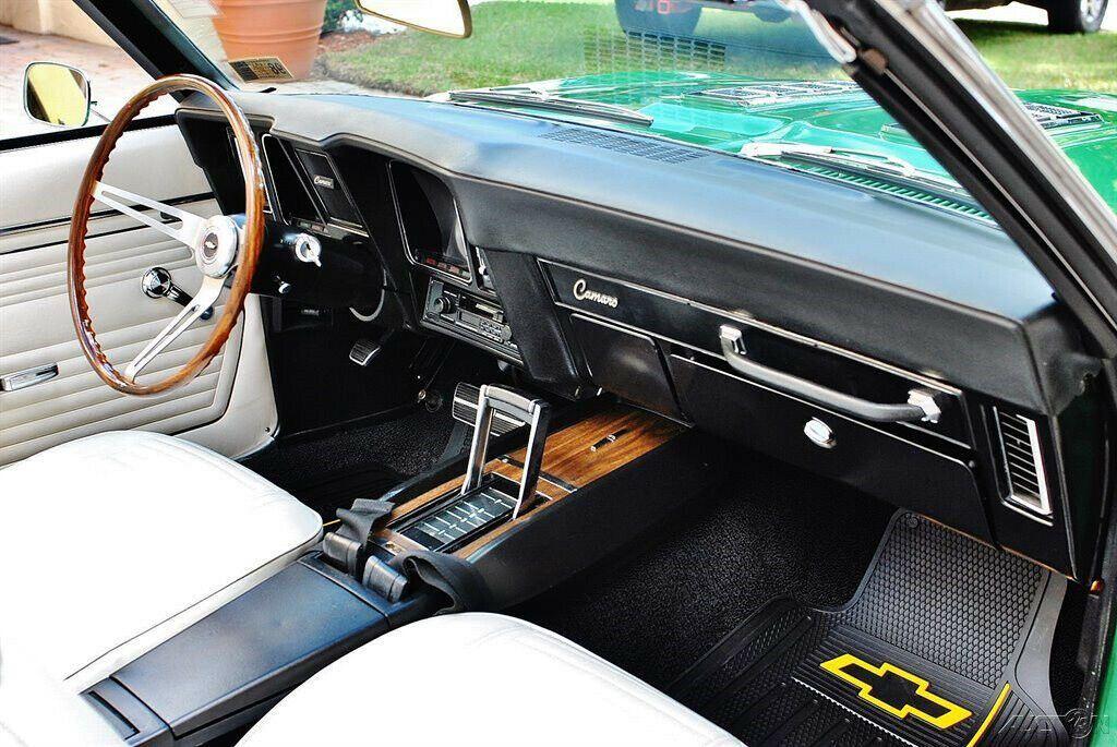 beautiful 1969 Chevrolet Camaro SS Convertible restored