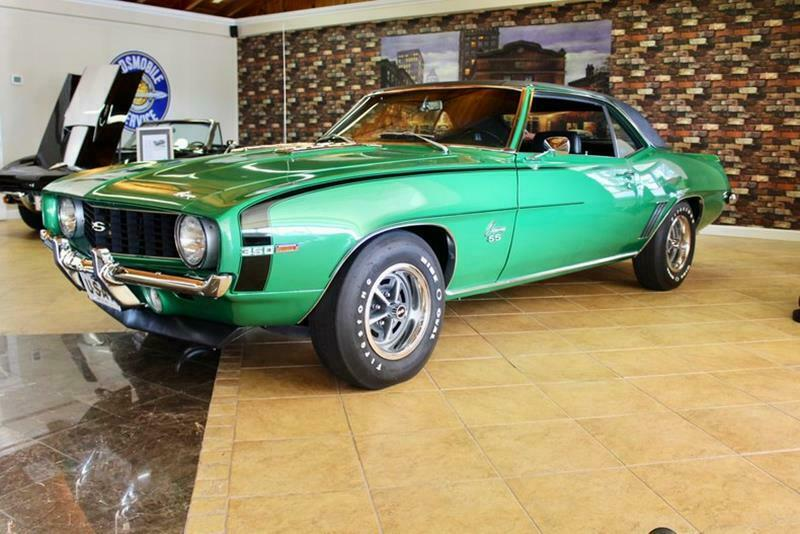 detailed 1969 Chevrolet Camaro restored