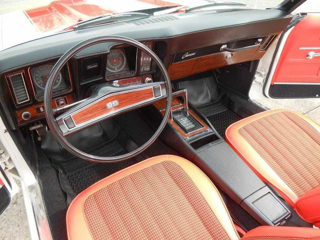 low miles 1969 Chevrolet Camaro restored