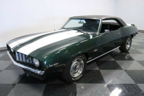 low miles 1969 Chevrolet Camaro Z/28 restored for sale