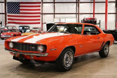 original drivetrain 1969 Chevrolet Camaro Z/28 restored for sale