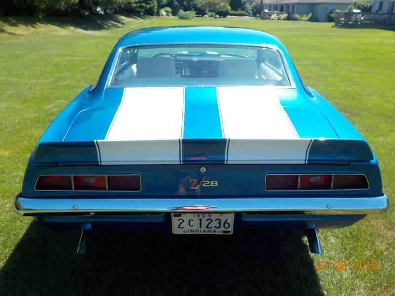stunning 1969 Chevrolet Camaro Z28 restored