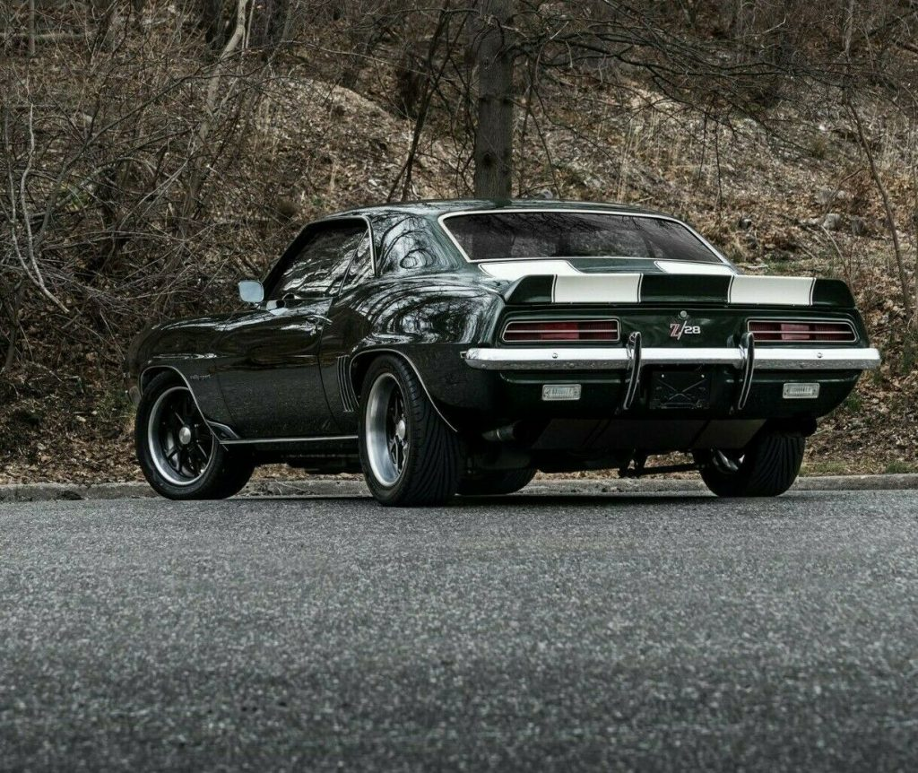 well modified 1969 Chevrolet Camaro RS Z28 restored