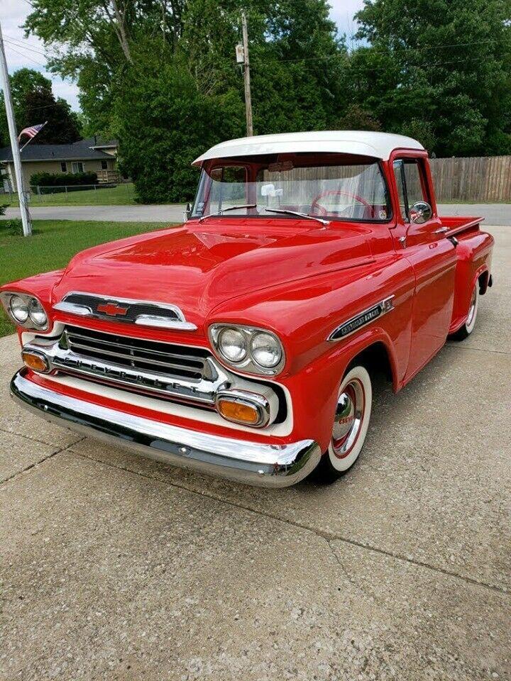 vintage 1959 Chevrolet 3100 pickup restored