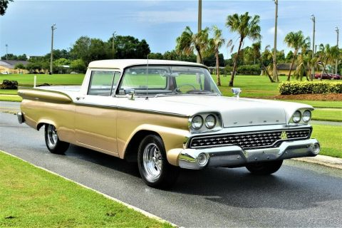 vintage 1959 Ford Ranchero restored for sale