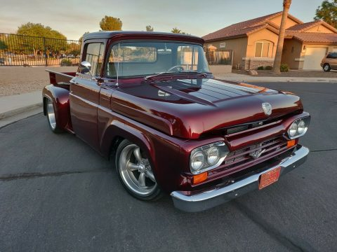 1960 Ford F-100 Custom Frame Off Restoration NEW BUILD for sale