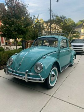 1962 VW Beetle Restored to Original / One Family owned for sale