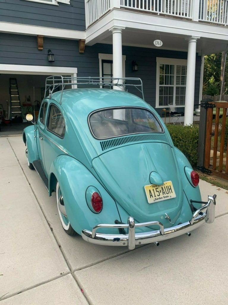 1962 VW Beetle Restored to Original / One Family owned