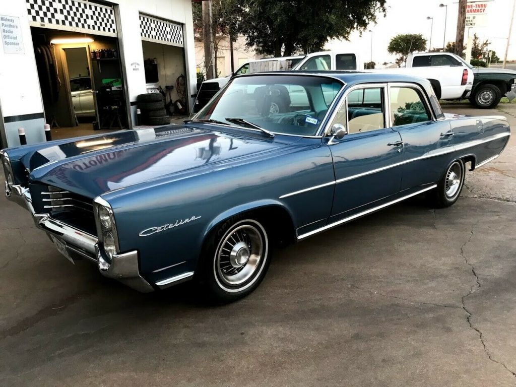 Stunning 1964 Pontiac Catalina, Beautiful Classic 4 dr Frame Off Restoration