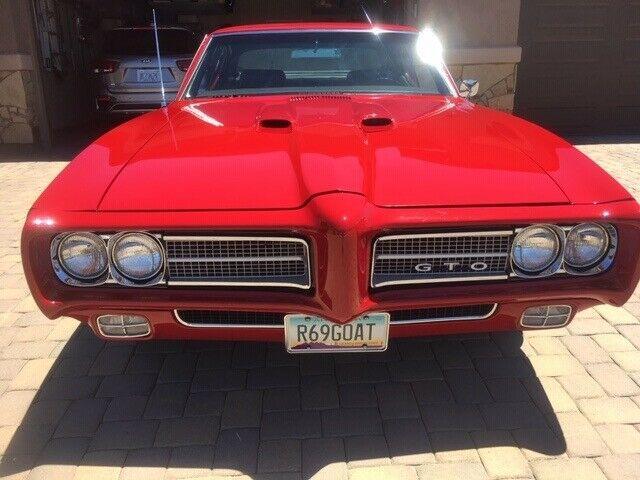 1969 Pontiac GTO 4 Speed Frame off Restoration