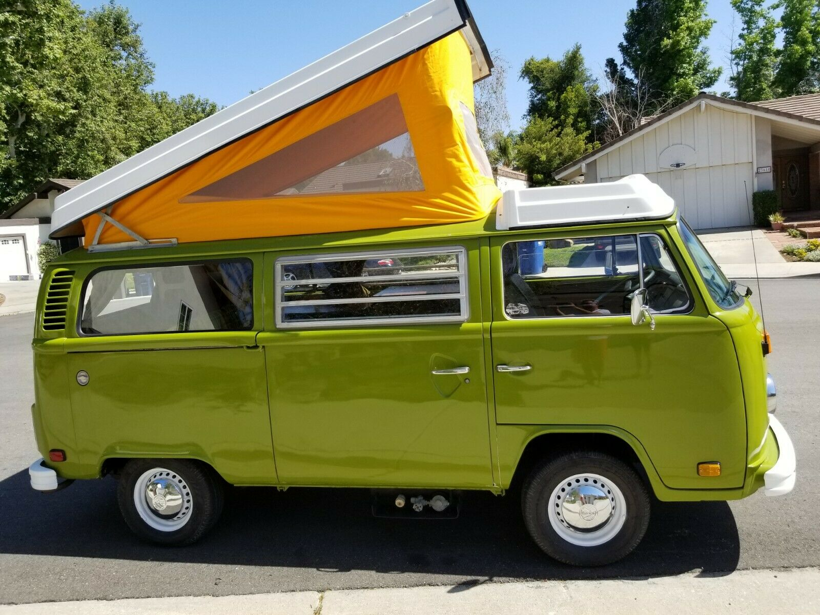 For Sale 1977 Volkswagen Westfalia Camper Barn Find